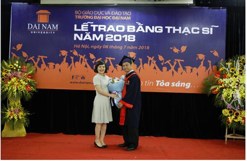 Đại học Đại Nam: Những cái nhất trong lễ trao bằng tốt nghiệp cao học khóa 4 - Ảnh 4