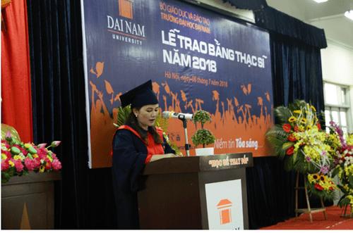 Đại học Đại Nam: Những cái nhất trong lễ trao bằng tốt nghiệp cao học khóa 4 - Ảnh 6