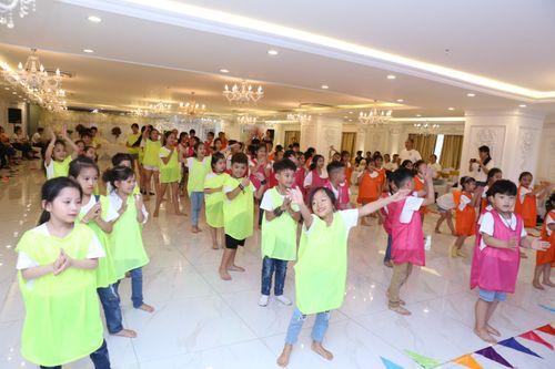 Teambuilding bùng nổ bữa tiệc sôi động và đầy màu sắc của các thí sinh Cuộc thi Tìm Kiếm Thiên Tài Nhí 2018 - Ảnh 2