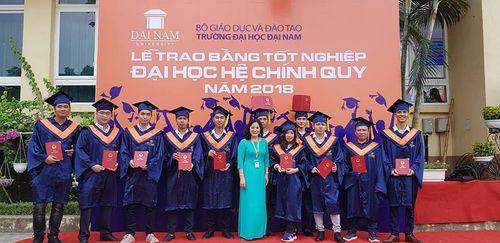 Lễ bế giảng và trao bằng tốt nghiệp cho sinh viên Đại Học Đại Nam khóa 7,8 hệ chính quy đại học - Ảnh 9
