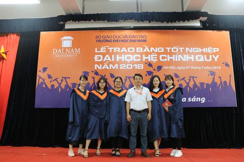 Lễ bế giảng và trao bằng tốt nghiệp cho sinh viên Đại Học Đại Nam khóa 7,8 hệ chính quy đại học - Ảnh 10