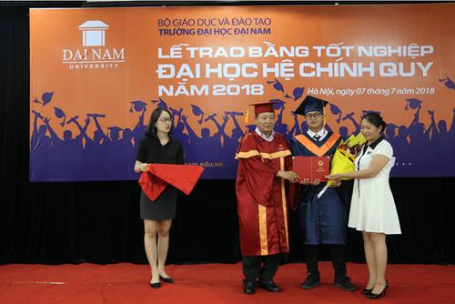 Lễ bế giảng và trao bằng tốt nghiệp cho sinh viên Đại Học Đại Nam khóa 7,8 hệ chính quy đại học - Ảnh 7