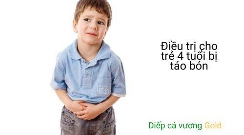 Hiểu biết cơ bản về cách điều trị cho trẻ 4 tuổi bị táo bón - Ảnh 1
