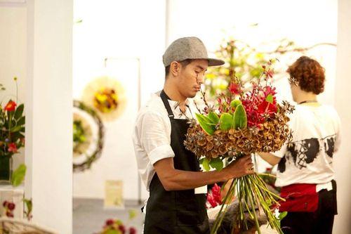 Nghệ nhân thiết kế hoa quốc tế Trần Hoài Chiến - Ảnh 7