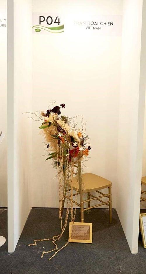 Nghệ nhân thiết kế hoa quốc tế Trần Hoài Chiến - Ảnh 9