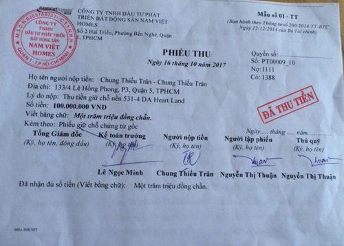 Nam Việt Homes bị tố chây ì, lừa dối khách hàng - Ảnh 2