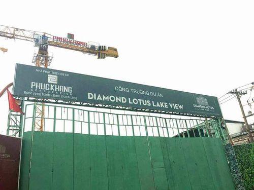 """Diamond Lotus Lake View: Khách hàng đứng trước nguy cơ """"tiền mất, nợ mang"""" - Ảnh 1"""