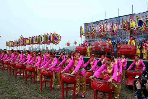 """Chùm ảnh: Lễ Tịch Điền """"Vua đi cày"""" tại Hà Nam - Ảnh 11"""