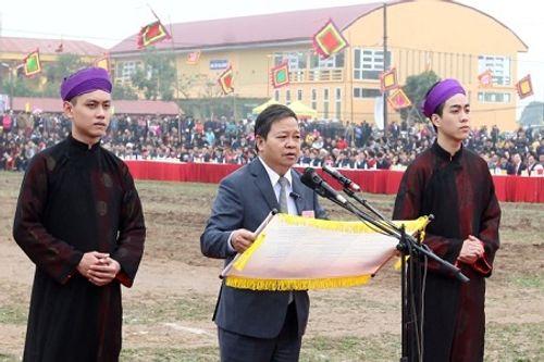 """Chùm ảnh: Lễ Tịch Điền """"Vua đi cày"""" tại Hà Nam - Ảnh 14"""