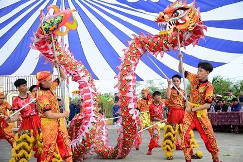 Chùm ảnh: Lễ hội Cầu Bông tại làng rau Trà Quế - Ảnh 1