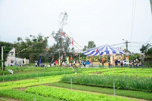 Chùm ảnh: Lễ hội Cầu Bông tại làng rau Trà Quế - Ảnh 6