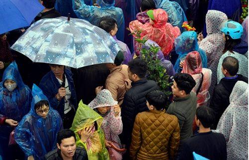 Video: Hàng nghìn người chen lấn, xô đẩy tại Phủ Dầy - Ảnh 22