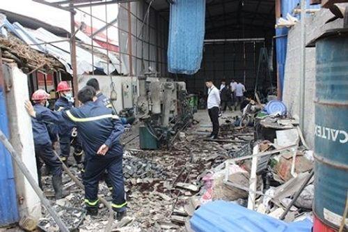 Hải Phòng: Kinh hoàng vụ nổ bình khí nitơ, 2 người bị thương nặng - Ảnh 1