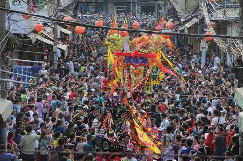 Chùm ảnh: Độc đáo Lễ hội Tết Nguyên tiêu của người Hoa ở TP. HCM - Ảnh 10