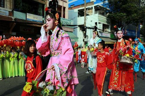 Chùm ảnh: Độc đáo Lễ hội Tết Nguyên tiêu của người Hoa ở TP. HCM - Ảnh 12