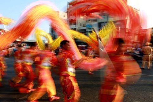 Chùm ảnh: Độc đáo Lễ hội Tết Nguyên tiêu của người Hoa ở TP. HCM - Ảnh 13