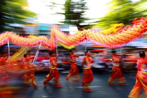 Chùm ảnh: Độc đáo Lễ hội Tết Nguyên tiêu của người Hoa ở TP. HCM - Ảnh 16