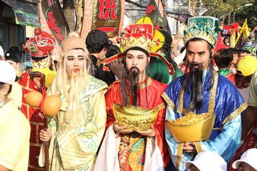 Chùm ảnh: Độc đáo Lễ hội Tết Nguyên tiêu của người Hoa ở TP. HCM - Ảnh 4