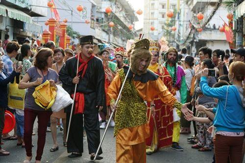 Chùm ảnh: Độc đáo Lễ hội Tết Nguyên tiêu của người Hoa ở TP. HCM - Ảnh 5