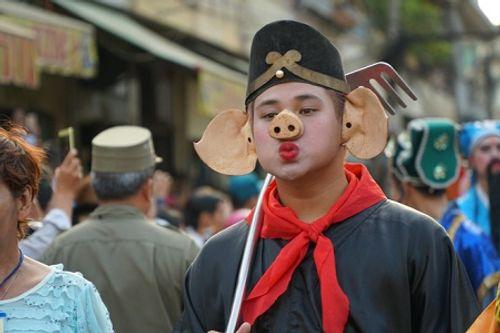 Chùm ảnh: Độc đáo Lễ hội Tết Nguyên tiêu của người Hoa ở TP. HCM - Ảnh 6