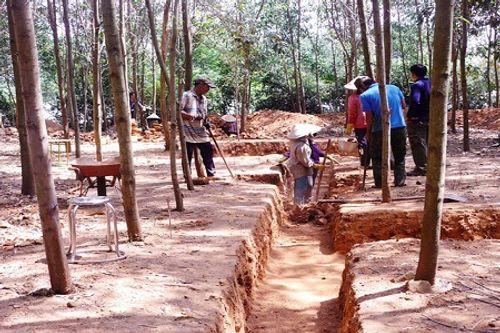 Khai quật phế tích tháp Chà Rây gần 1.000 năm tuổi ở Bình Định - Ảnh 3