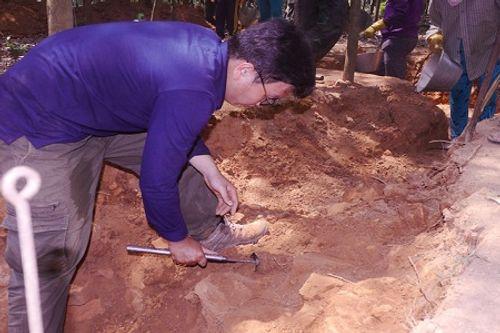 Khai quật phế tích tháp Chà Rây gần 1.000 năm tuổi ở Bình Định - Ảnh 4