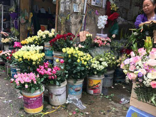 """Ngày 20/11: Hoa bó tiền triệu, hoa lẻ giá """"cao vút"""" lên 50 nghìn đồng/bông - Ảnh 8"""
