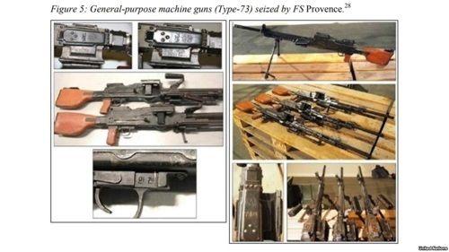 Vũ khí Triều Tiên bị Pháp tịch thu tại biển Ả rập - Ảnh 1