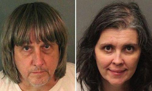 Bắt giữ cặp vợ chồng Mỹ vì giam cầm 13 đứa con trong nhà và tra tấn - Ảnh 1