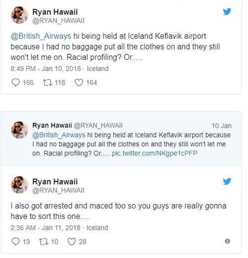 Hành khách người Anh bị cấm lên máy bay vì mặc quá nhiều quần áo - Ảnh 3