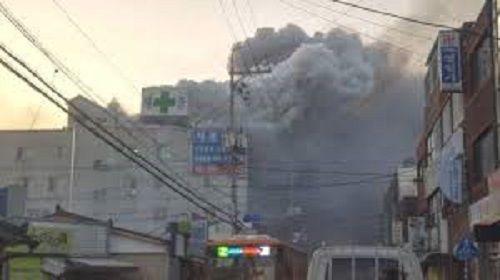 Hiện trường vụ cháy bệnh viện ở Hàn Quốc khiến 31 người thiệt mạng - Ảnh 2