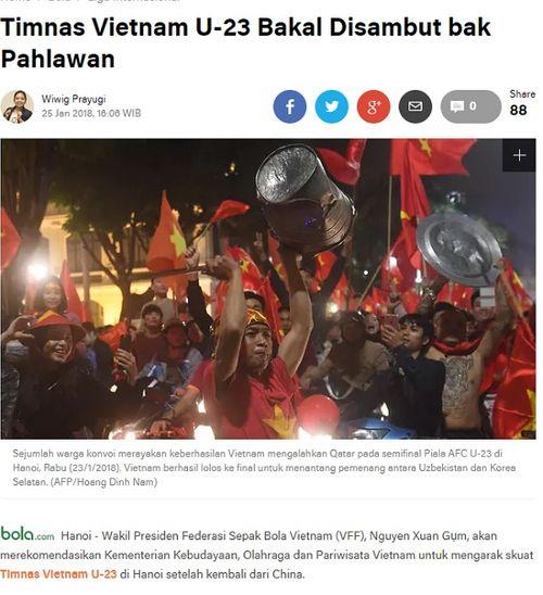 Tuyển U23 và tình yêu bóng đá của Việt Nam khiến dư luận quốc tế ngưỡng mộ - Ảnh 2