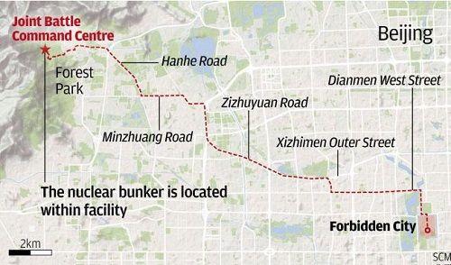 Hé lộ hầm trú ẩn hạt nhân của lãnh đạo hàng đầu Trung Quốc - Ảnh 1