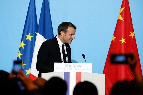 """Tổng thống Pháp gây ấn tượng khi tặng """"quà đặc biệt"""" cho Chủ tịch Trung Quốc - Ảnh 1"""