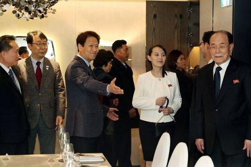 Hàn Quốc chi hơn 5 tỷ đồng đón tiếp phái đoàn Triều Tiên dự Olympic - Ảnh 1