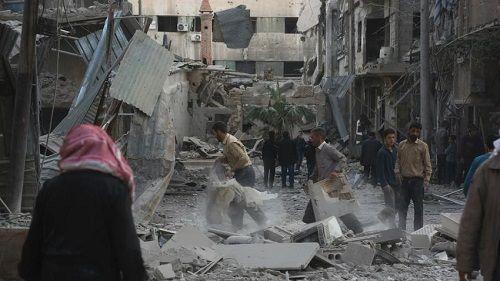 Nga, Mỹ đổ lỗi cho nhau vụ không kích khiến hơn 400 người Syria thiệt mạng - Ảnh 2
