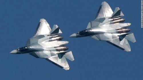 Nga gửi máy bay chiến đấu Su-57 hiện đại nhất đến Syria - Ảnh 1
