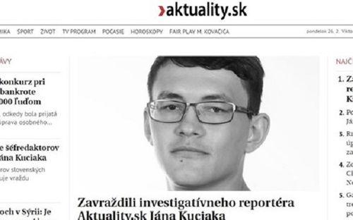 Slovakia: Phóng viên điều tra tham nhũng bị giết hại ngay tại nhà riêng - Ảnh 1
