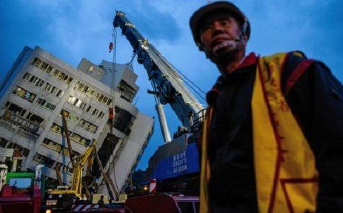 Đài Loan từ chối lời đề nghị trợ giúp của Trung Quốc sau động đất  - Ảnh 1