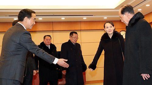Chuyên cơ chở em gái ông Kim Jong-un đã đáp xuống Hàn Quốc - Ảnh 2