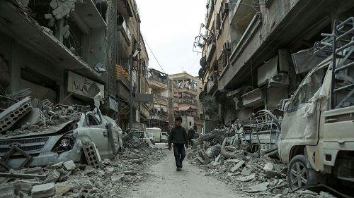 Syria: 20 ngày bắn phá liên tục ở Đông Ghouta, hơn 1.000 dân thường thiệt mạng - Ảnh 1