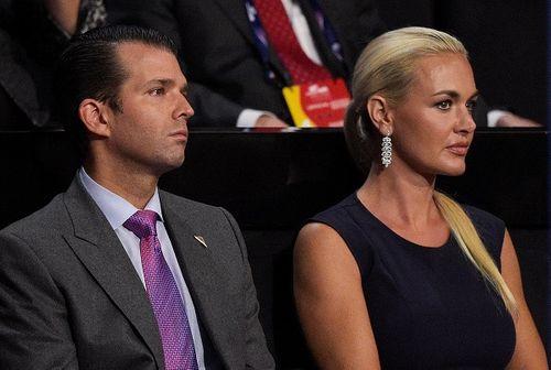 Con dâu Tổng thống Trump đệ đơn ly hôn - Ảnh 1