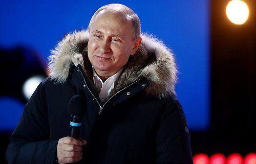 Chiến thắng với số phiếu áp đảo, ông Putin gửi lời cảm ơn đến cử tri  - Ảnh 1