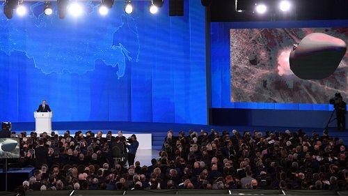 Tổng thống Putin tự hào 'khoe' kho vũ khí hạt nhân mạnh vô đối của Nga - Ảnh 1