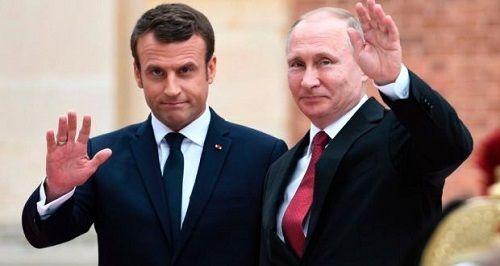 Tổng thống Pháp điện đàm chúc mừng ông Putin, không quên 'nhắc nhở' Nga - Ảnh 1