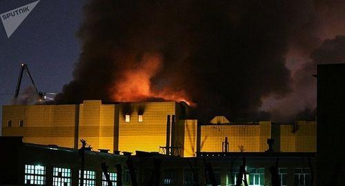 Cháy trung tâm thương mại Nga: Số người chết lên tới 53, hàng chục trẻ em mất tích - Ảnh 1
