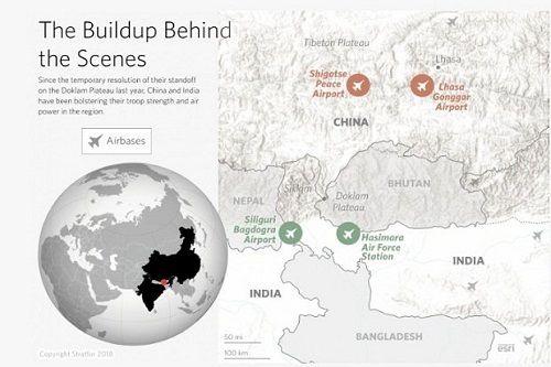 Trung Quốc, Ấn Độ đua nhau xây dựng lực lượng quân sự dọc biên giới - Ảnh 1