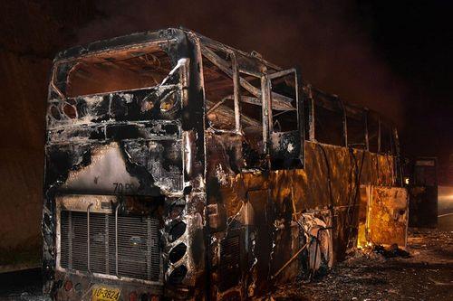 Thái Lan: Xe buýt bốc cháy, 20 nhân công thiệt mạng - Ảnh 1