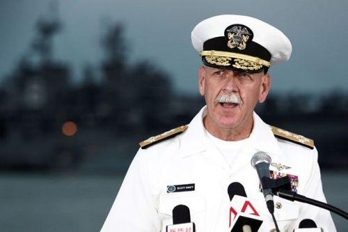 Đô đốc Hải quân Mỹ tố Trung Quốc mập mờ về ngân sách quốc phòng - Ảnh 1