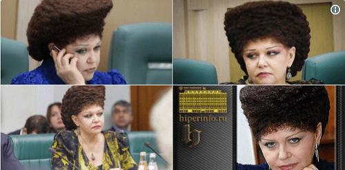 Nghị sĩ Nga gây ấn tượng mạnh với kiểu tóc độc nhất vô nhị - Ảnh 1